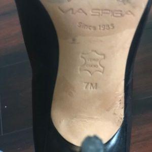 Via Spiga Shoes - Via Spiga Black Pumps Size 7